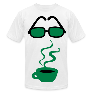 coffee please - Men's T-Shirt by American Apparel