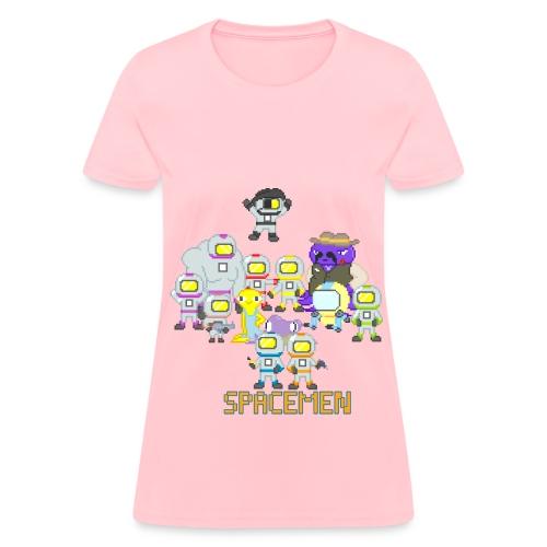 Spacemen Full Cast (Women) - Women's T-Shirt