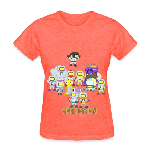Spacemen Full Cast (Women) - Women's T-Shirt