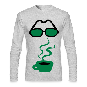 coffee please - Men's Long Sleeve T-Shirt by Next Level