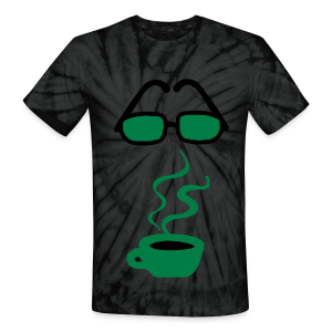 coffee please - Unisex Tie Dye T-Shirt