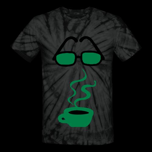coffee please - Unisex Tie Dye T-Shirt