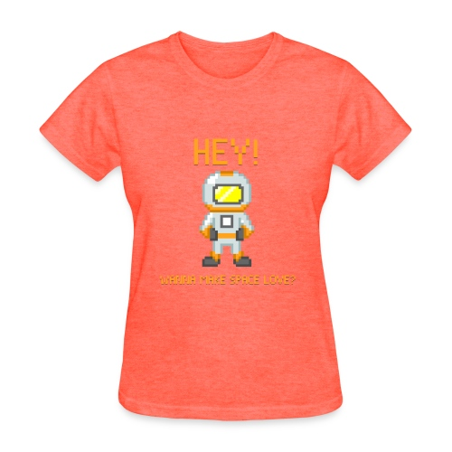 Space Love (Women) - Women's T-Shirt