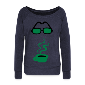 coffee please - Women's Wideneck Sweatshirt