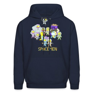 Spacemen Full Cast (Men) - Men's Hoodie