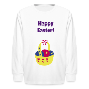 Happy Easter - Kids' Long Sleeve T-Shirt