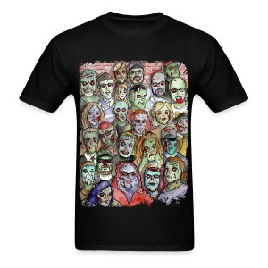 zombie horde - Men's T-Shirt