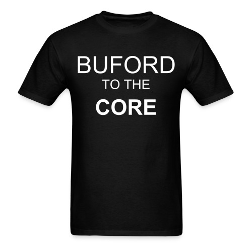 Buford  to the core - Men's T-Shirt