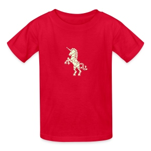 Robicorn Glow in the Dark - Pick a shirt color! - Kids' T-Shirt