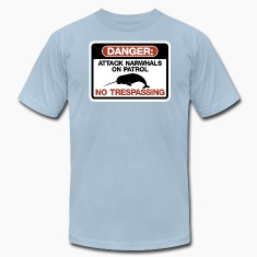 Attack Narwhals on Patrol T-Shirts