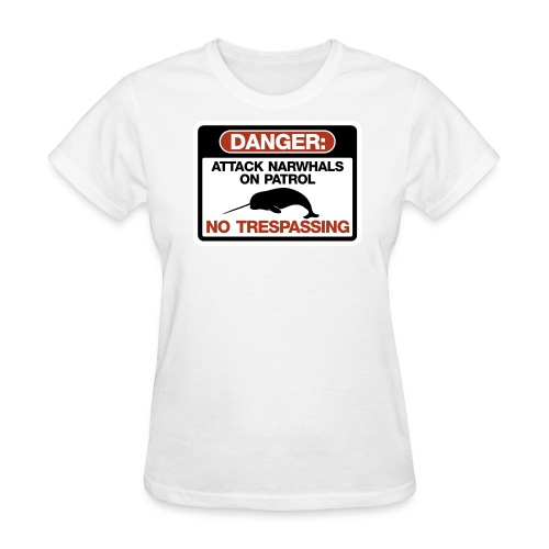 Attack Narwhals on Patrol - Women's T-Shirt