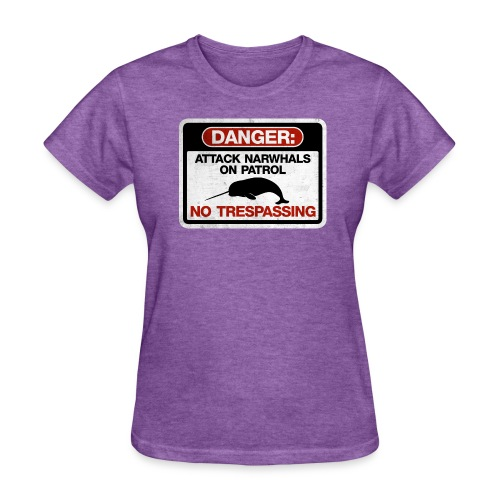 Attack Narwhals on Patrol (Vintage) - Women's T-Shirt