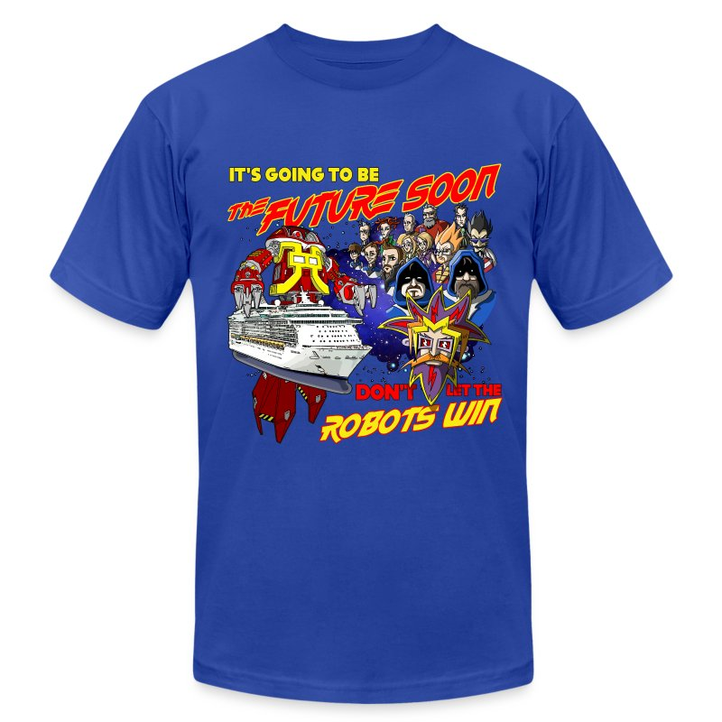 JoCo Cruise Crazy Anime (men's larger sizes) - Men's T-Shirt by American Apparel