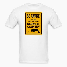 Narwhal Country T-Shirts