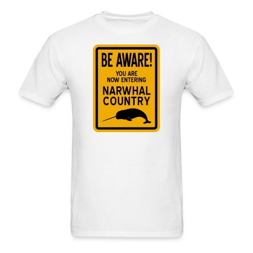 Narwhal Country - Men's T-Shirt
