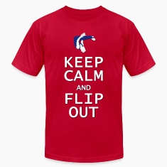 Keep Calm and Flip Out T-Shirts