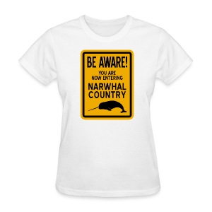 Narwhal Country - Women's T-Shirt