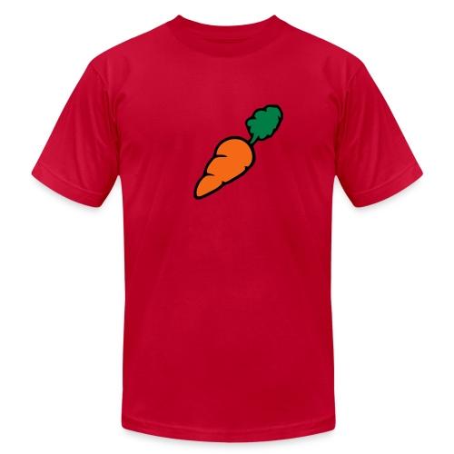 Carrot American Ap - Men's Fine Jersey T-Shirt