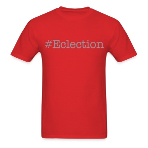 #Eclection (metallic silver) - Men's T-Shirt