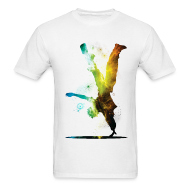 T-Shirts ~ Men's T-Shirt ~ Break Dancer