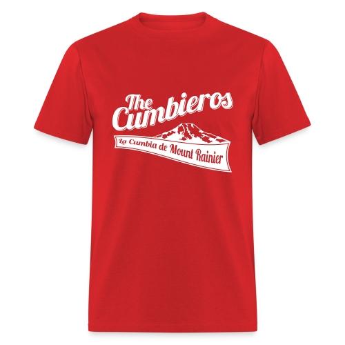 La Cumbia de Mount Rainier tee-shirt - Men's T-Shirt