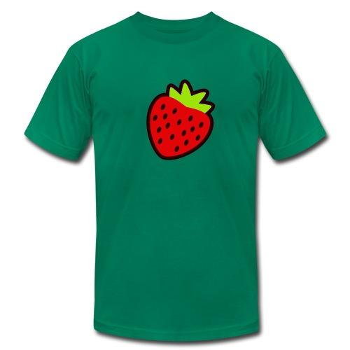 Strawberry American Ap - Men's Fine Jersey T-Shirt