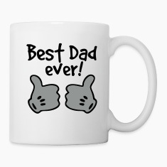 best dad ever Bottles & Mugs