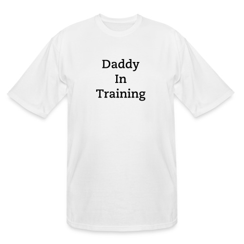 Daddy In Training White - Men's Tall T-Shirt