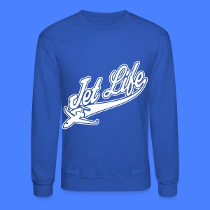 Jet Life Long Sleeve Shirts - Crewneck Sweatshirt