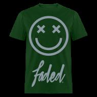 T-Shirts ~ Men's T-Shirt ~ I'm Faded [metallic silver]