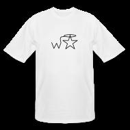 T-Shirts ~ Men's Tall T-Shirt ~ Men's Tall Black Logo Wranglerstar