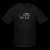 T-Shirts ~ Men's Tall T-Shirt ~ Men's Tall White Logo Wranglerstar