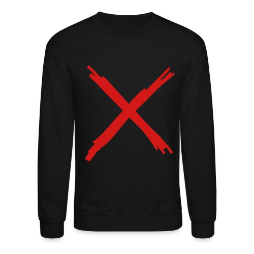 X marks the spot - Crewneck Sweatshirt