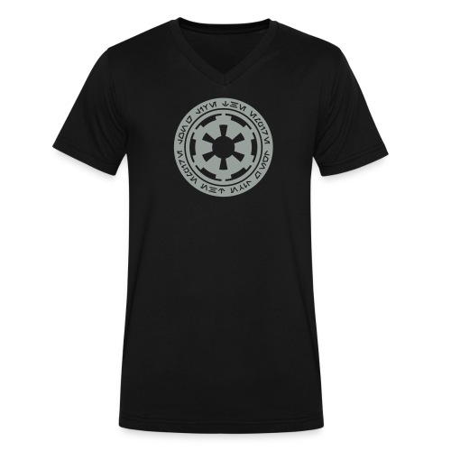Imperial Logo Shirt - Men's V-Neck T-Shirt by Canvas