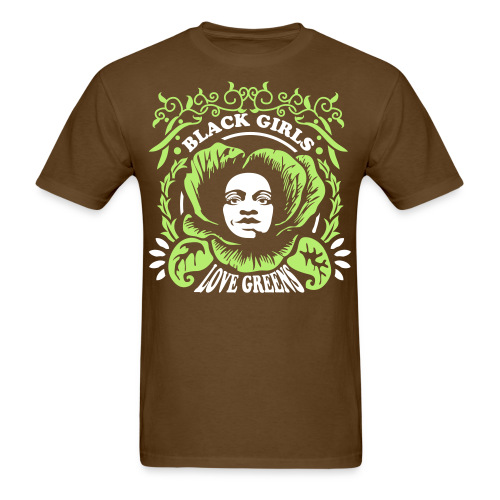 Black Girls Love Greens Standard Tshirt - Men's T-Shirt