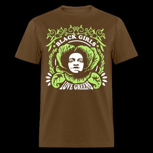 Black Girls Love Greens Standard Tshirt - Men's T-Shirt