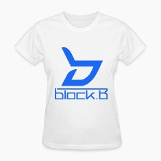 Block B Logo Blue Ver. Women's T-Shirts