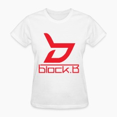Block B Logo Red Ver. Women's T-Shirts