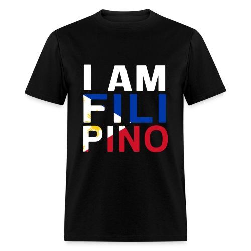 I AM FILIPINO (White) - Men's T-Shirt