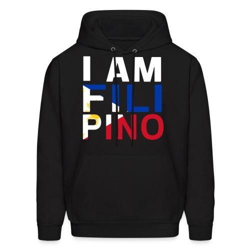 I AM FILIPINO (White) - Men's Hoodie
