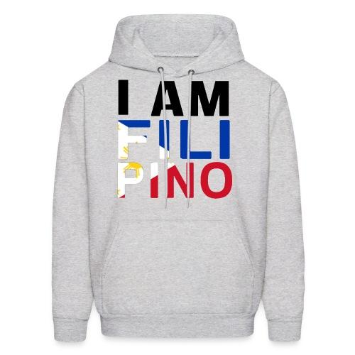 I AM FILIPINO (Black) - Men's Hoodie
