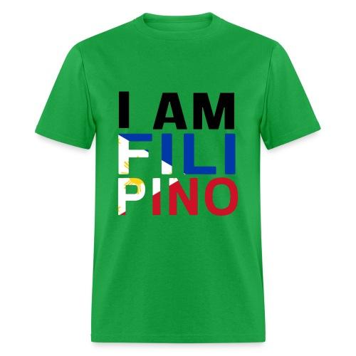I AM FILIPINO (Black) - Men's T-Shirt
