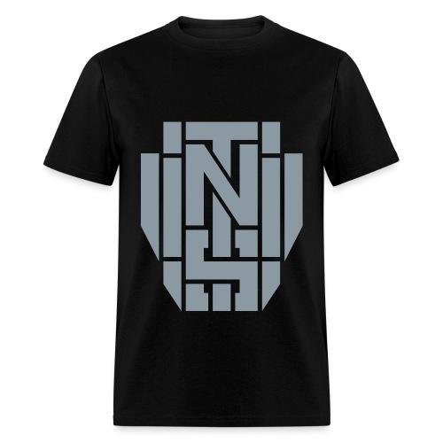 DeStepticon Metallic Silver - Men's T-Shirt
