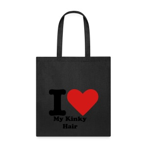 I Heart My Curly Hair - Tote Bag