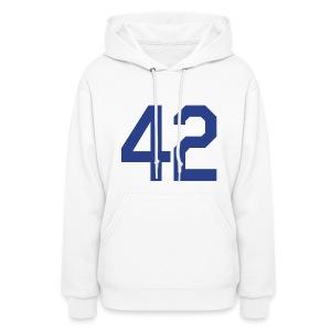 Jackie Robinson 42 Girls Womens Hoodie Hooded Sweatshirt - Women's Hoodie