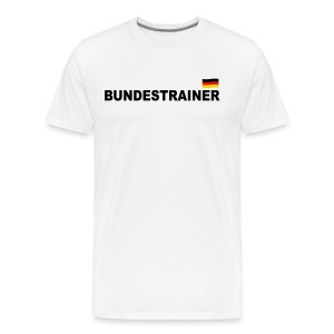Fussball Bundestrainer soccer flag Germany 3c men's T-Shirt - Men's Premium T-Shirt