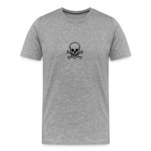 Jolly Roger Grey - Men's Premium T-Shirt