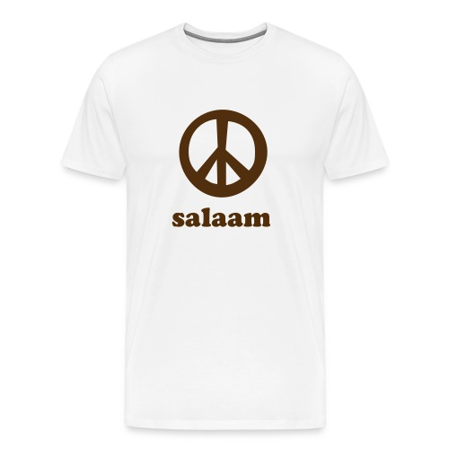 Salaam Peace T-Shirt Nature - Men's Premium T-Shirt