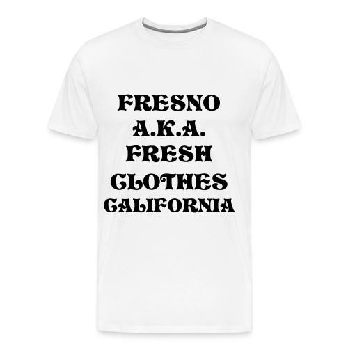 FRESH CLOTHES CA. TEE - Men's Premium T-Shirt