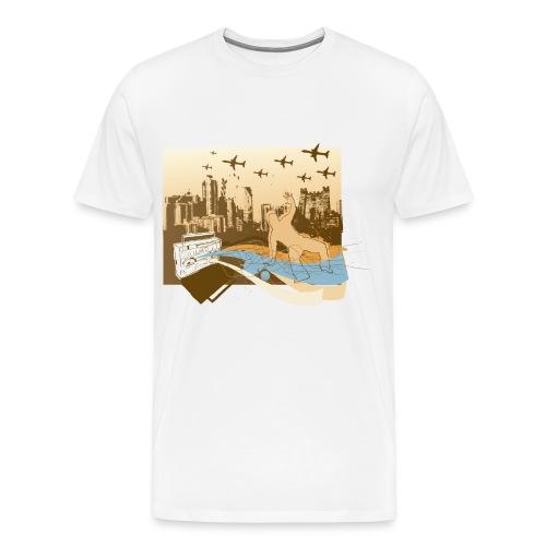 Ghetto Blast - Men's Premium T-Shirt